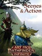 Scenes and Action Art Pack (Pathfinder Infinite)