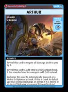 Arthur - Custom Card
