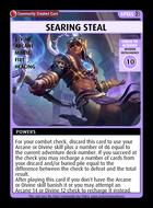 Searing Steal - Custom Card