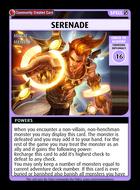 Serenade - Custom Card