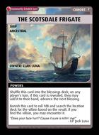 The Scotsdale Frigate - Custom Card