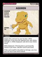 Agumon - Custom Card