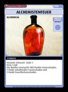 Alchemistenfeuer - Custom Card