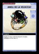 Anell De La Velocitat - Custom Card