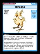 Chocobo - Custom Card