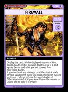 Firewall - Custom Card