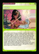 Dejah - Custom Card