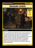 Treasure Seeker - Custom Card