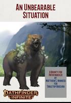 An Unbearable Situation