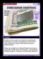 Streetarium Smartosis - Custom Card