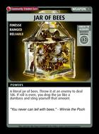 Jar Of Bees - Custom Card