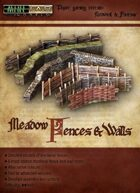 Meadow Fences and Walls