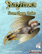 Ponyfinder - From Chaos, Order Herolab Extension