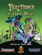 Ponyfinder - Hidden Draft