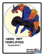 Hero Art Templates Compendium 1