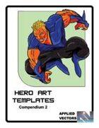 Hero Art Templates Compendium 2