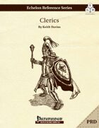 Echelon Reference Series: Clerics (PRD Only)