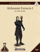 Echelon Reference Series: Alchemist Extracts I (3pp+PRD)