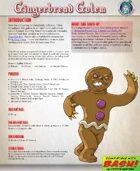 BASH! Gingerbread Golem