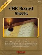 RC5 - OSR Record Sheets