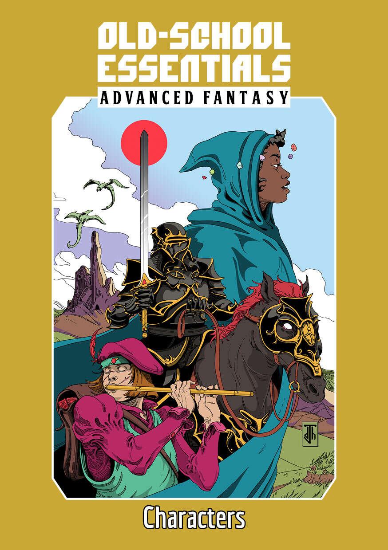 Old-School Essentials Advanced Fantasy Genre Rules