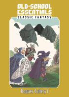 Old-School Essentials Classic Fantasy Rogues Gallery I