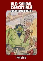 Old-School Essentials Classic Fantasy: Monsters — Plain Text Edition