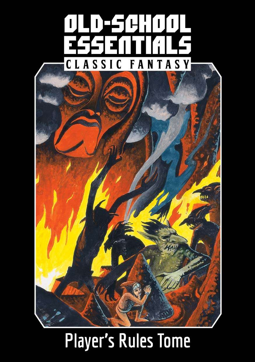 Old-School Essentials Classic Fantasy Player's Rules Tome