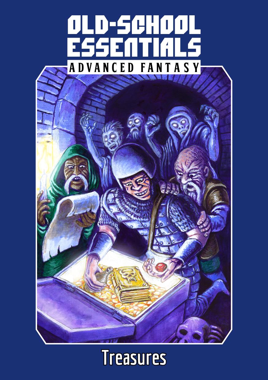 Old-School Essentials Advanced Fantasy Treasures