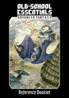 Old-School Essentials Advanced Fantasy Reference Booklet