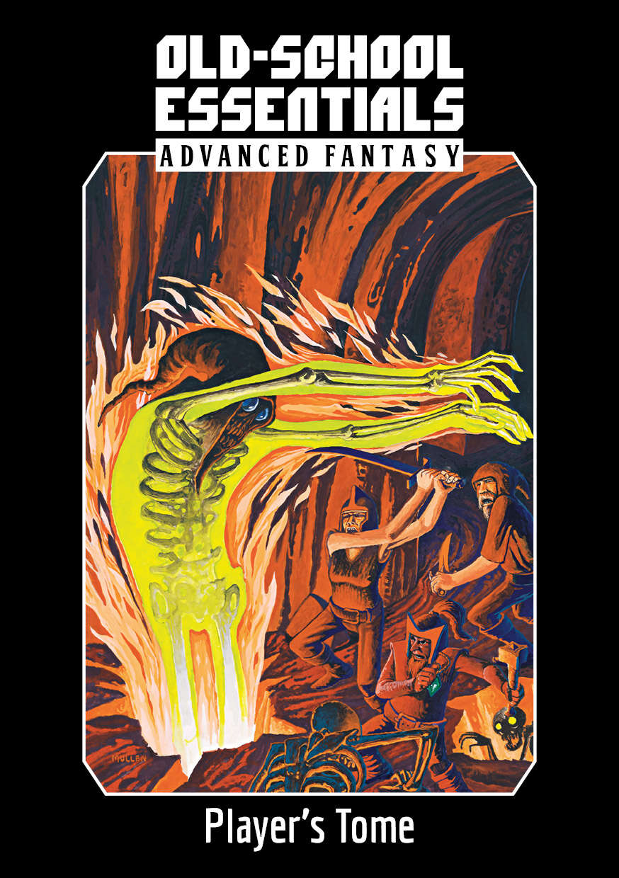 Old-School Essentials Advanced Fantasty Player's Tome
