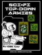 Sci-Fi TopDowns 15mm JungleWorld