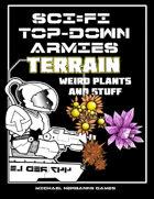 Sci-Fi TopDowns WeirdPlant Terrain