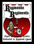 Raymonds Regiments  [BUNDLE]