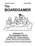 The Boardgamer Magazine - Volume 2, Issue 1