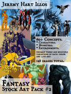 JH Illos Fantasy Stock Art Pack 2