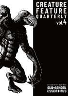Creature Feature Quarterly vol. 4 (OSE)