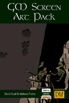 Dungeon World GM Screen Art Pack