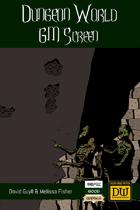 Dungeon World GM Screen (Portrait Inserts)