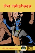 The Rakshasa - A Dungeon World Playbook