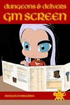 Dungeons & Delvers GM Screen