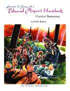 The Tekumel Player's Handbook Combat Summary - Swords & Glory Vol. 2