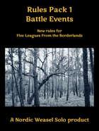 Battle Events. A supplement for Five Leagues