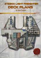 ZT-3300 Light Freighter Deck Plans