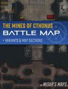 Asteroid Mining Station - Sci-Fi Battle Map