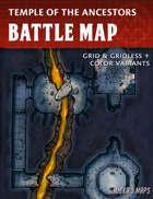 Temple of the Ancestors Battle Map