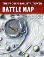 Frozen Ballista Tower - Fantasy Battle Map