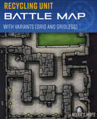 Recycling Unit - Sci-fi Battle Map