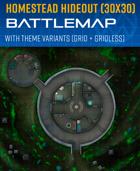 Space Homestead Hideout - Battle Map (30x30)