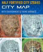 Half Fortified City Map